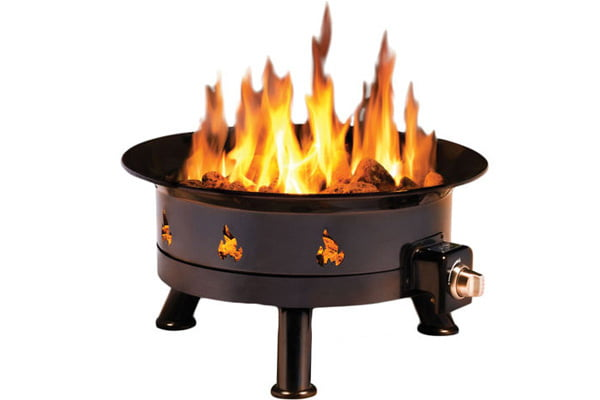 Large Portable Propane Fire Pit Mountain Event Rentals
